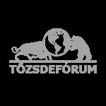 Tőzsdefórum logo - flybuilt megjelenés